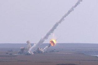 Российская ракета, отклонившись от маршрута, упала на границе Казахстана