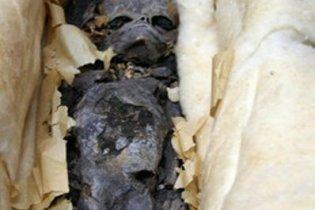 Жінка знайшла під підлогою мумію дитини 40-річної давності