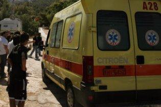 Круизный лайнер врезался в причал возле греческого острова