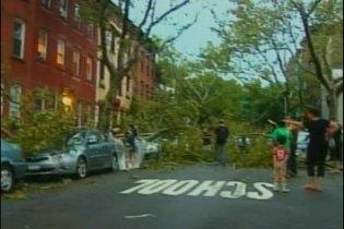 Мощный шторм обрушился на Нью-Йорк: один человек погиб
