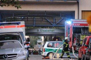 В Германии вооруженную женщину, ворвавшуюся в больницу, застрелила полиция