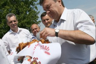 Янукович планує зробити Україну світовою житницею