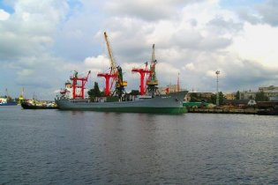 В Херсоне арестовали российское судно