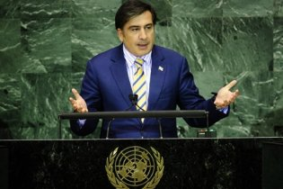 Саакашвили с трибуны ООН обвинил Россию в оккупации грузинской территории