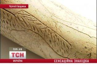 На Чернігівщині розкопали унікальний витвір мистецтва доби палеоліту