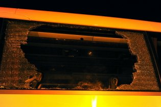 На Черкасщине перевернулся  автобус с агитаторами