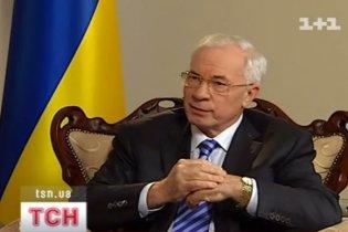 Азаров признался, что чувствует себя на 100% украинцем