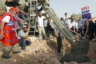 Єврейські поселення відновлять будівництво на палестинських територіях
