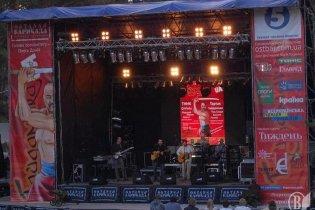 На музыкальном фестивале под Киевом устроили побоище бейсбольными битами