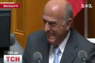 Швейцарские министр рассмешил депутатов своим докладом