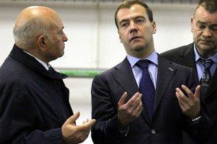 Мєдвєдєв пояснив, чому звільнив Лужкова