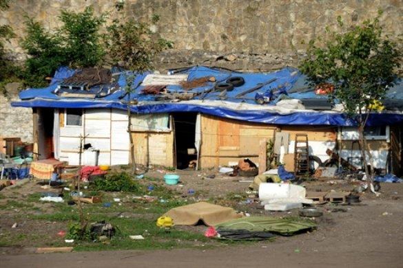 Циганський табір, Франція