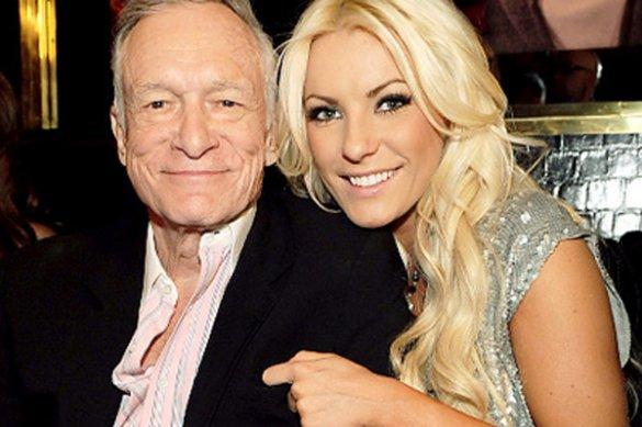 Засновник Playboy Х'ю Хефнер зробив пропозицію 24-річній моделі