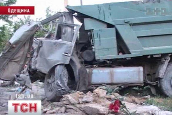 Аварія вантажівки