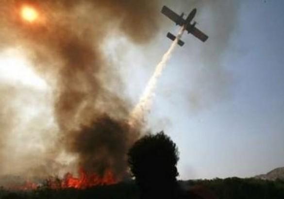 Боротьба з лісовими пожежами в Греції