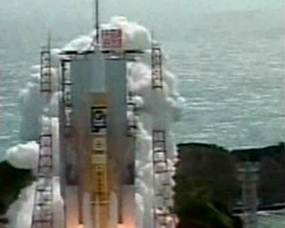 Японія запустила на Місяць дослідницький корабель