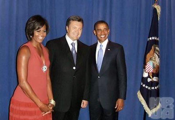 Віктор Янукович, Барак Обама