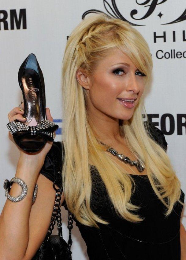 Пэрис Хилтон презентовала свою коллекцию обуви