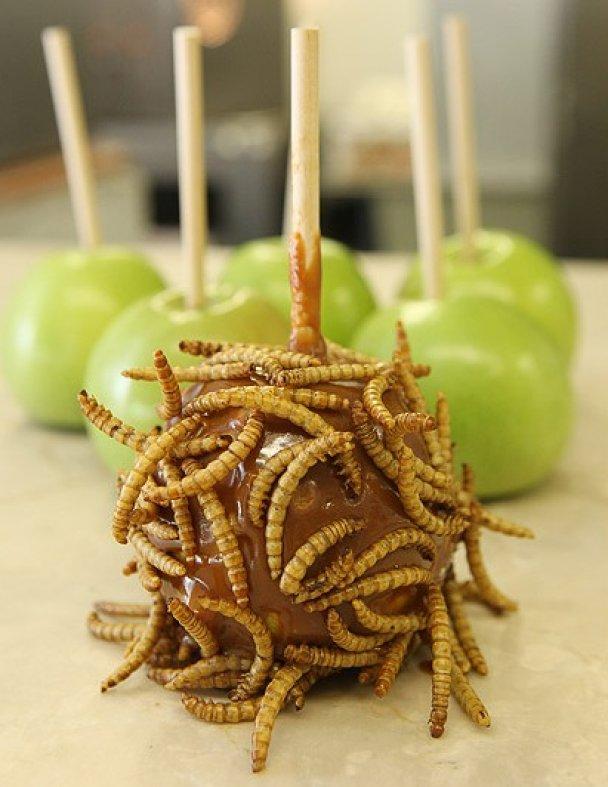 У США роблять цукерки з хробаками і скорпіонами