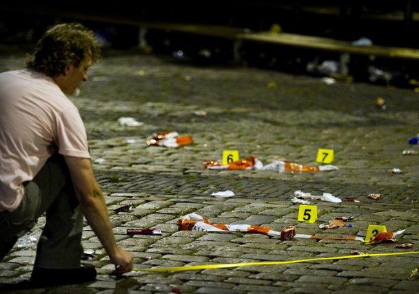 В Нидерландах открыли стрельбу во время музыкального фестиваля (видео)