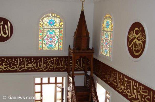 В Крыму открылась мечеть имени президента Чечни Рамзана Кадырова