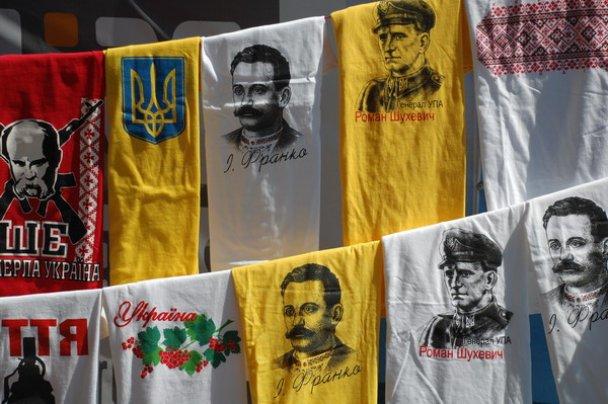 У День незалежності одесити купували вишиванки і футболки з Бандерою