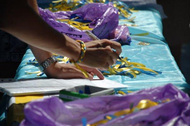 В День Независимости одесситы покупали вышиванки и футболки с Бандерой