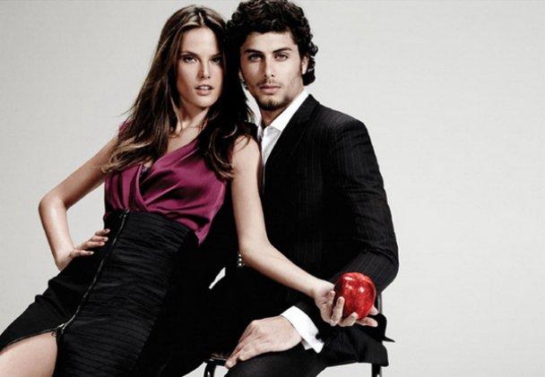 Алессандра Амбросио и Иисус Лус рекламируют одежду