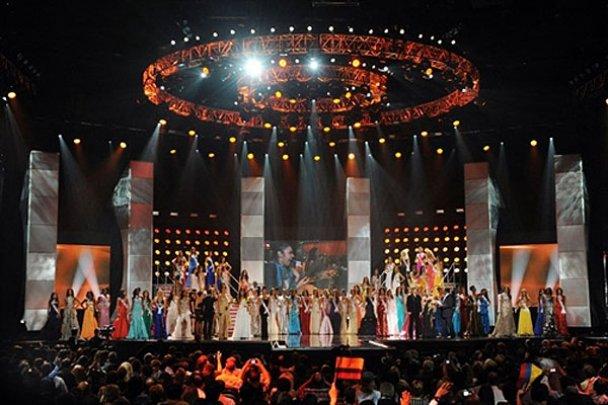 """Конкурс красоты """"Мисс Вселенная-2010"""" в Лас-Вегасе"""