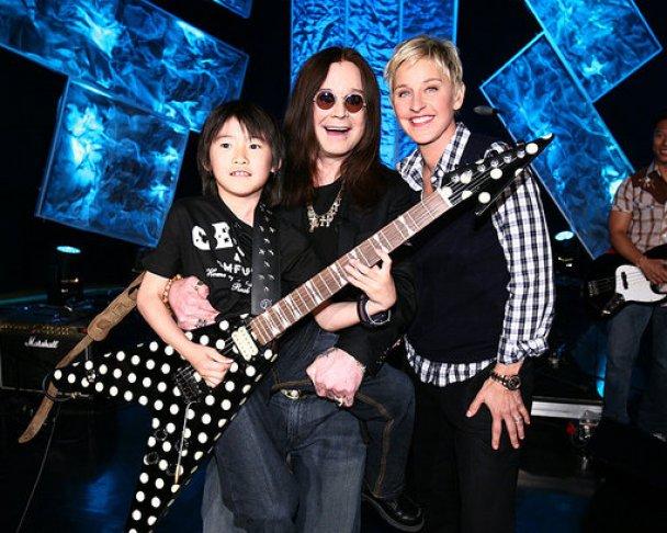 Оззи Осборн сыграл дуэтом с 10-летним гитаристом