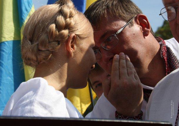 Тимошенко сменила прическу
