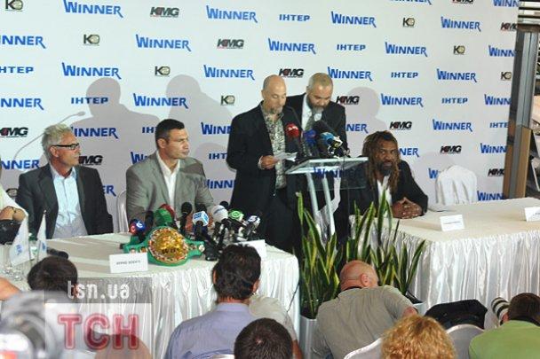 Віталій Кличко привіз у Київ останнього чемпіона-американця
