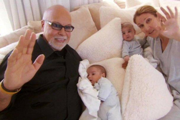 Синочки Селін Діон відсвяткували перший день народження