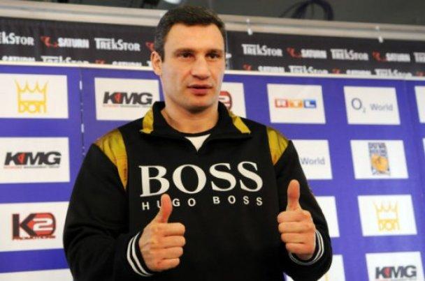 Виталий Кличко отмечает 40-летие