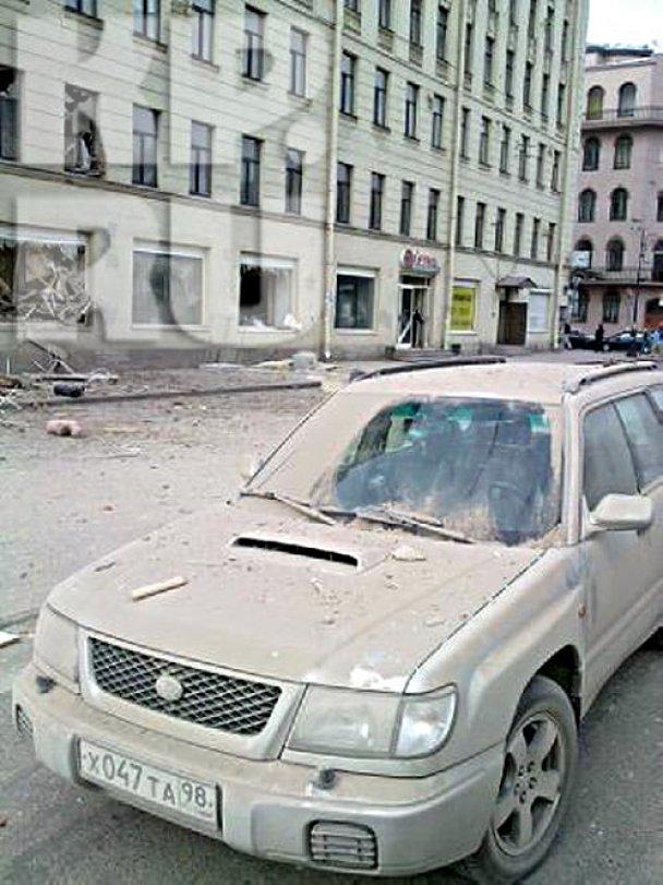 У центрі Петербурга завалилися перекриття восьмиповерхового будинку