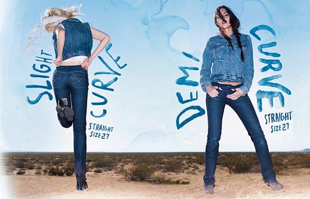 """Levi's представила линейку """"идеальных"""" джинсов для любой фигуры"""