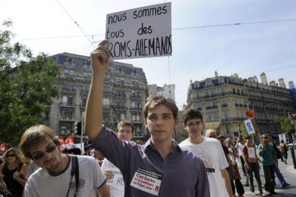 Французи вийшли на демонстрації на захист циган
