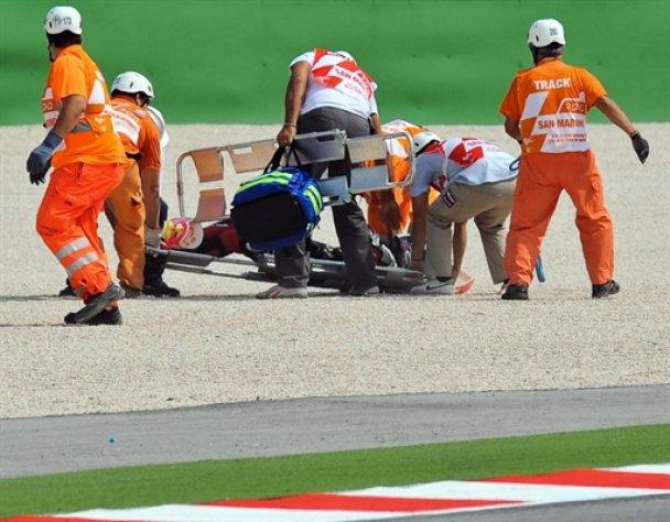 Японський мотоцикліст розбився на престижній гонці