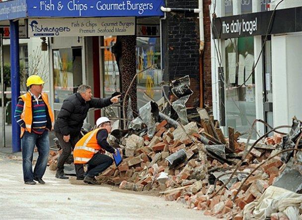 Наслідки сильного землетрусу у Новій Зеландії