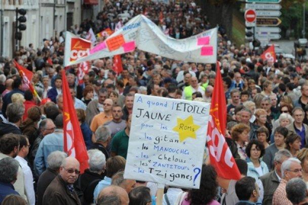 Во Франции состоялись масштабные акции протеста против пенсионной реформы