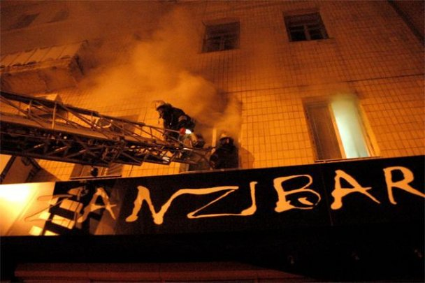 Масштабна пожежа в Харкові: горіли кав'ярні і магазини
