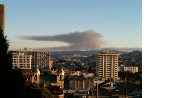 Взрыв в Сан-Франциско уничтожил десятки домов