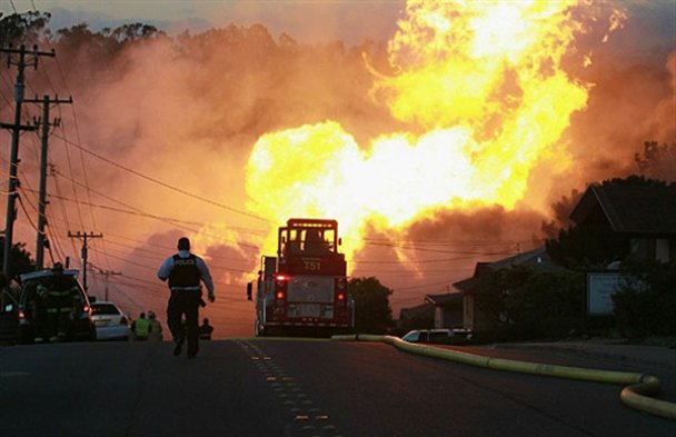 Вибух у Сан-Франциско знищив десятки будинків