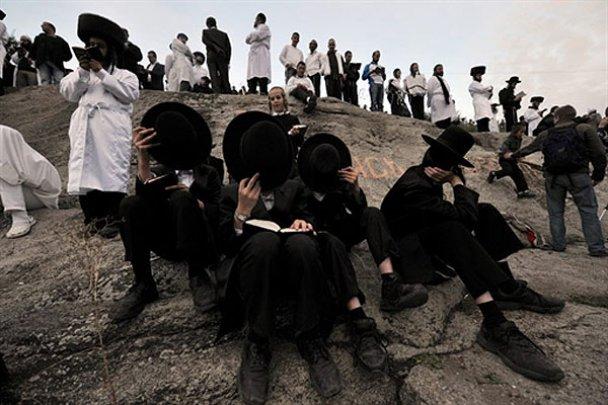 Хасиды в Умани отпраздновали Новый 5771 год