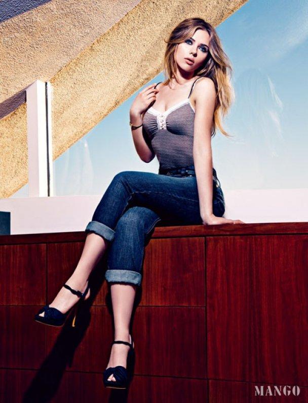 Скарлетт Йоханссон снялась в новой рекламе Mango