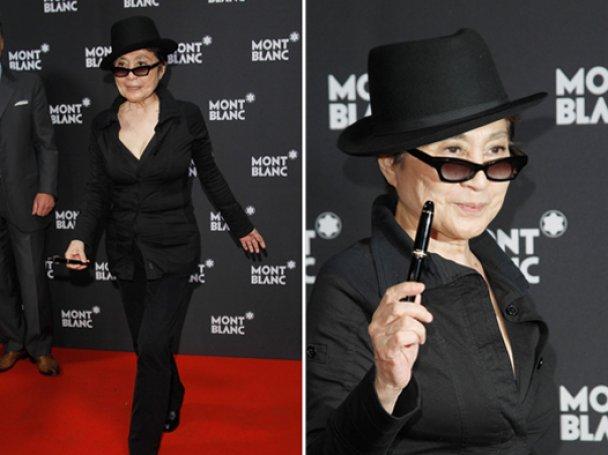 Йоко Оно отпраздновала юбилей Леннона
