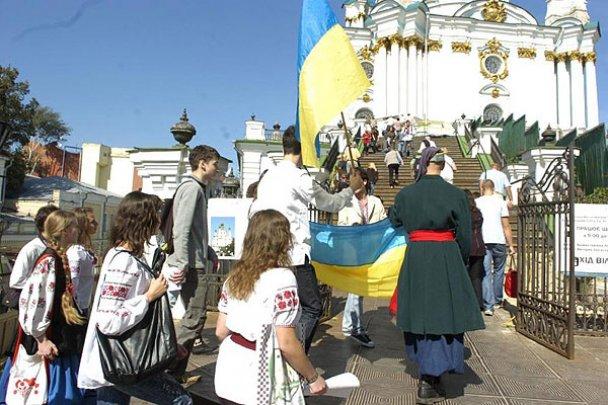"""""""Мегаграндіозний"""" парад вишиванок у Києві"""