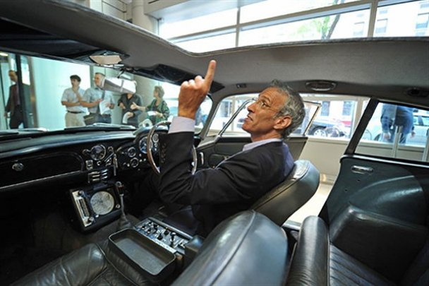 """Автомобіль """"агента 007"""" Джеймса Бонда виставлено на аукціон"""