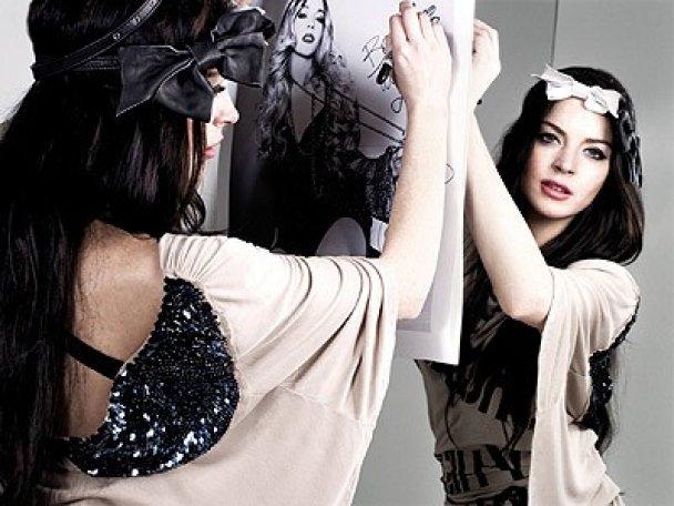 Ліндсей Лохан стала обличчям бренду Fornarina