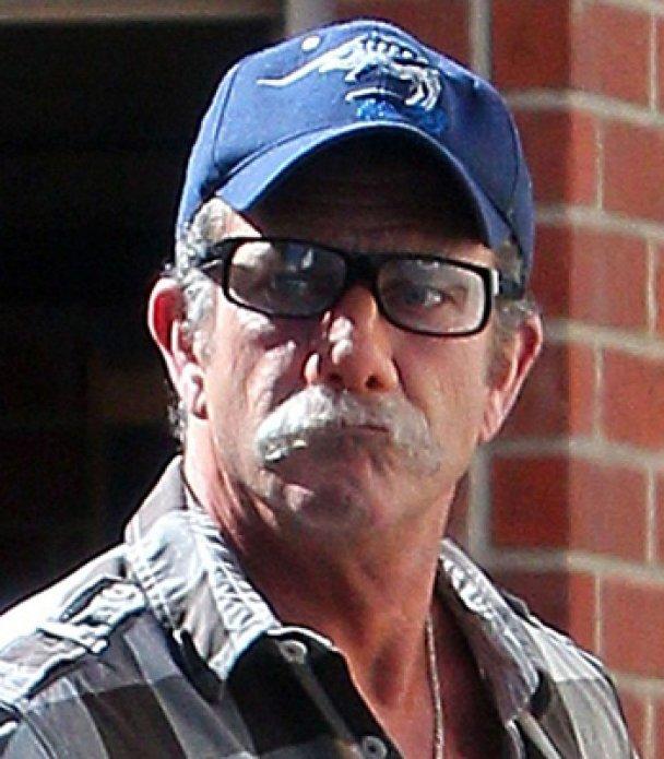 Мел Гібсон замаскувався вусами та накладним носом